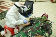 Pandemi COVID-19, Prajurit Marinir Ramai-ramai Sumbang Darah