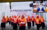 Lies F Nurdin Ajak Dharma Wanita Terus Sosialisasikan Pencegahan Covid-19