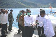 Kunker Pertama Sejak Corona Melanda Indonesia, Mahfud Kunjungi Anambas