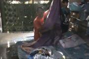 Budi Hartono Bertahan Bersama Istri dan 10 Anak di Rumah Hampir Roboh