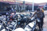 Ajang Balap Liar di Jalan Jamin Ginting, Polres Karo Amankan 27 Motor Knalpot Blong