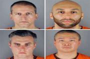 Buntut Kematian George Floyd, Tiga Polisi Minneapolis Didakwa