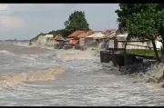 Ratusan Rumah di Pesisir Pantura Indramayu Terendam Banjir Rob