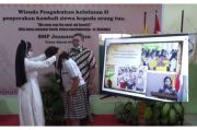SMP Joannes Bosco Yogya Laksanakan Wisuda Online, Lulus 100%