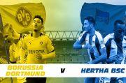 Fakta Menarik Borussia Dortmund vs Hertha BSC