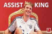 Thomas Mueller Raja Assist Bundesliga