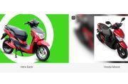Honda Berebut Desain Motor Skuter dengan Hero Electric