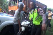 Terjepit Dua Truk Tronton, Pengendara Motor Asal Medan Tewas