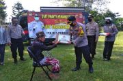Jelang Hari Bhayangkara, Polres Purwakarta Beri Bantuan Warga Disabilitas