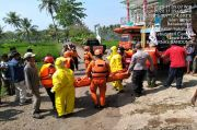 1 Korban Terseret Arus Sungai Cianjur Ditemukan, 1 Lagi Masih Hilang