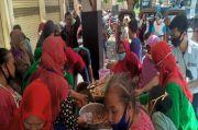 Negatif COVID-19, Pedagang Pasar Kadipolo Solo Gelar Syukuran