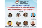 Kondisi Masyarakat Indonesia Dinilai Sensitif terhadap Rasisme