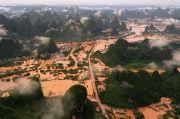 Banjir Bandang Terjang China, 1.300 Rumah Hancur, Puluhan Orang Tewas