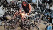 Industri Kreatif Motor Custom Tak Terpengaruh Covid-19, Pesanan Tetap Ngegas