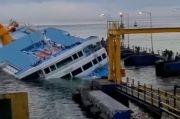 KM Dharma Rucitra Masih Karam di Padangbai Bali, Evakuasi Sulit Dilakukan