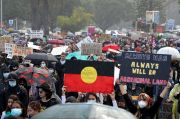 Ribuan Orang Ikuti Protes Black Lives Matter di Penjuru Australia