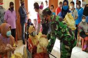 Giliran Warga RW 08 Cilincing Jakut Disasar Bansos Akabri 89