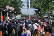 Stasiun Bekasi Perketat Protokol Kesehatan untuk Hadapi Lonjakan Penumpang