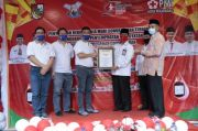 Wakil Wali Kota Pekanbaru Apresiasi PMI Kota Pekanbaru Terima Rekor Muri