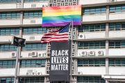 Trump Protes Spanduk Black Lives Matter di Kedubes AS di Korsel