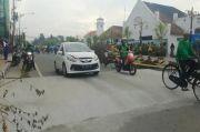Viral, Polisi Tidur Jumbo di Jalan Protokol Madiun Bahayakan Pengendara