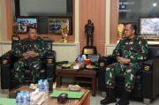 Danjen Kopassus Bersama Aslat KSAD Bahas Latihan Kesiapan Tugas Operasi