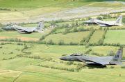 Jet Tempur F-15C AS Jatuh dan Hantam Laut Utara, Pilotnya Tewas