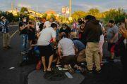 Hendak Robohkan Patung di New Mexico, Seorang Pria Ditembak