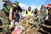 Pemulihan Pasca Banjir, Pemkot Gorontalo Kerahkan Alat Berat