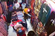Terekam CCTV Komplotan Emak-emak Pencuri Pakaian di Pasar Dibekuk Polisi