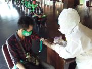 150 Tukang Ojek di Solo Jalani Rapid Test Covid-19