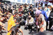 Polrestabes Surabaya Musnahkan Barang Bukti 144 Kilogram Sabu