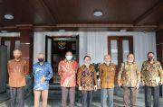 Mahfud MD Dampingi Purnawirawan TNI Bertemu Presiden di Istana Bogor