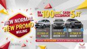 New Normal New Promo Wuling, Bayar Rp100 Ribu Dapat Cashback Rp5 Juta