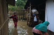 Tanggul Sungai Jebol, 100 Rumah di Ciamis Terendam Banjir
