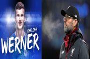 Cinta Bertepuk Sebelah Tangan, Klopp Emoh Komentari Transfer Werner