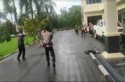 Paksa Masuk ke Mako Brimob Polda Sultra Pria Ini Bikin Geger
