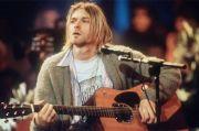 Pecahkan Rekor Lelang, Gitar Kurt Cobain Laku Rp85,5 Miliar