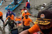 Perahu Terbalik, 3 Nelayan Pangandaran Terseret Ombak Sejauh 15 Km