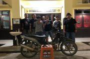 Hendak Jual Motor Curian, Pemuda Ini Malah Diringkus Polisi