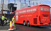 Kamar Ganti Pemain Liverpool Dipindah ke Halaman Parkir Stadion