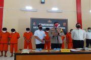 Jarah Kayu Sonokeling, Polres Majalengka Ringkus 8 Pelaku Illegal Loging