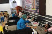 Polres Tana Toraja Gelar Donor Darah Pakai Protokol Kesehatan