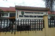 Gaji Tak Juga Dibayar Perusahaan, Pekerja Pembersih Lahan Geruduk Disnaker Riau
