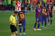 Rakitic Dianggap Pahlawan Barcelona, Suarez Malah Jadi Pecundang