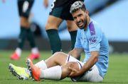 Cedera saat Man City Ladeni Burnley, Aguero Akan Operasi Lutut di Barcelona