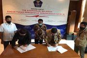 DPP IKA PMII Berkolaborasi dengan Relawan Gugus Tugas Bangkitkan Perekonomian Warga