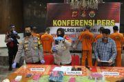 16 Kali Beraksi di Sukabumi, 2 Pencuri-2 Penadah Ditangkap Polisi