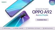 Oppo A92 Punya Varian Warna Baru Aurora Purple