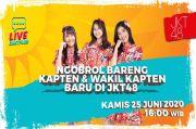 Ngobrol Seru Bareng Frieska, Gaby dan Celine JKT48 di RCTI Plus